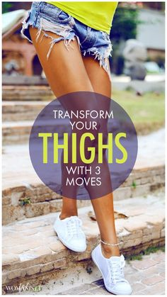 How To Tone Inner And Outer Thighs Let's get comfortable in those gorgeous legs again, ladies. These three exercises for inner and outer thighs will work to both tone and elongate those muscles. Fitness Diet, Fitness Goals, Health Fitness, Fitness Legs, Enjoy Fitness, Fitness Expert, Rogue Fitness, Fitness Workouts, Butt Workouts