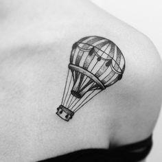 tattoo aquarela de balão - Pesquisa Google