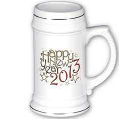 Happy New Year 2013 stein $22.20