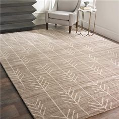 Hand Tufted Arrow Rug-$729 for 8x10                                                                                                                                                                                 More