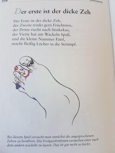 Der erste ist der dicke Zeh  #fingerspiel #krippe #kita #kindergarten  #kind #reim #gedicht #erzieherin #erzieher #fuß