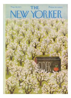 The New Yorker Cover - May 19, 1973