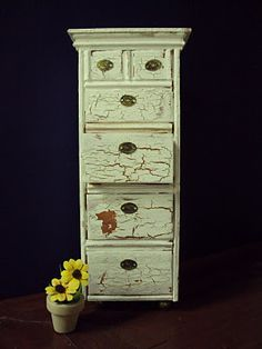 Antique Daisy: tutorial SEVERAL - FURNITURE FLOWERS USING JOLEES GREAT SHELF LS - USE SITE