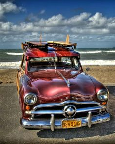 Surfs Up ~ 49 Ford Woody