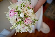 Peonies, tulips, astilbe, blush, pink, cream. Flowers by Tami McAllister Chattanooga. Photo by Our Ampersand Photography