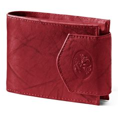 Buxton Heiress Leather Billfold Wallet, Women's, Red