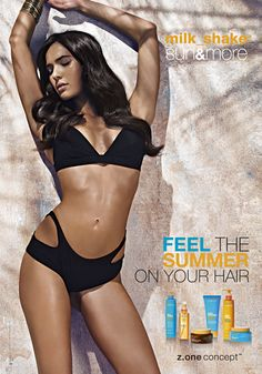 Feel the Summer on your hair with milk_shake sun&more!