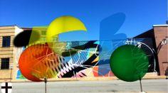 MOMO x Re+Public - Moto Wall Digital Mural @ ST. Louis (Video)
