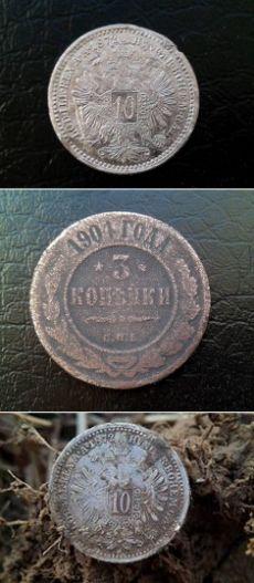 Почистил самое интересное из вчерашнего...  #metal detecting #finds  #history  #tools #diy #hunting #coins #locations #treasures