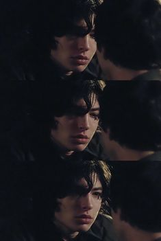 Ezra Miller//I want him to look at me like that