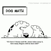 Math cartoons....what a great way to start math class! Love!