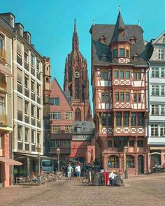 Frankfurt Germany Frankfurt Germany, Big Ben, Europe, Places To Visit, Mansions, Architecture, City, Gallery, Beautiful