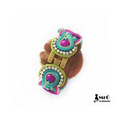 Bracelet-soutache Oriana-beau et unique par MrOsOutache sur Etsy