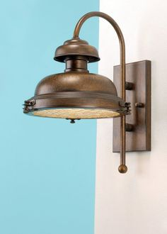 One Light 14.6 Inch Tall Outdoor Wall Sconce from the Escotilha Collection