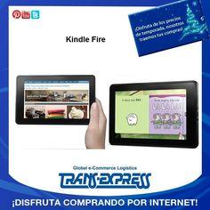 Que te parece de regalo una grandiosa kindel fire de 7 pulgadas totalmente táctil. TransExpress compras en internet en El Salvador. Costo aprox $207.34 http://amzn.com/B0083Q04IQ