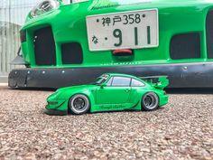 Rauh Welt, Porsche 993, Instagram Posts, Model, Ebay, Green, First Car, Scale Model