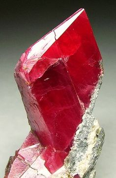 specimen of rhodonite ~ up close of crystal formation