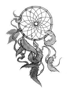 my dream catcher tattoo