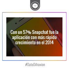 #Snapchat superó las descargas de Facebook Messenger, Pinterest e Instagram en el 2014. #RedesSociales #Media #Marketing
