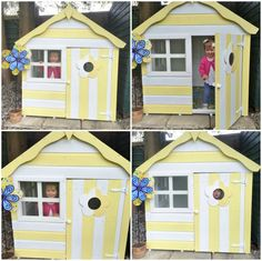 77 Best Playhouse Decoration Images In 2016 Play Houses Wooden