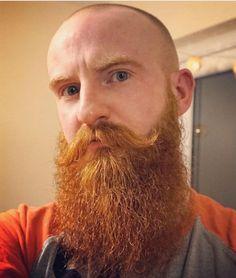Bald red beard bald bearded man pinterest beard for Red beard tattoo