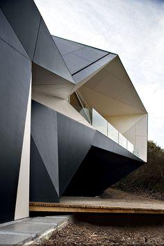 sharp edges. Klein Bottle House by McBride Charles Ryan