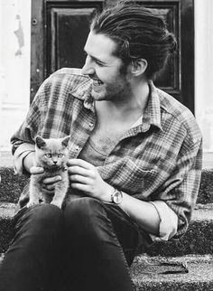 Hozier. So talented, so pretty. And the only man on earth allowed to wear a man bun. I mean it.