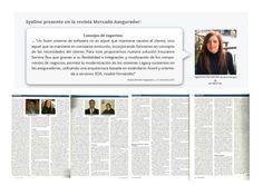 No te pierdas la nota de la revista Mercado Asegurador a Agostina Fernández, Business Manager de SysOne...