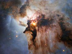 Lo que esconde la Nebulosa de la Laguna
