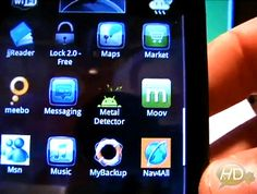 Offscreen Metal Detector Touch v1.0 | Symbian and Windows Phone Tutorial