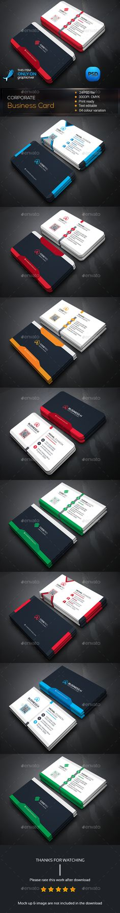 Corporate Business Card Template Bundle PSD. Download here: http://graphicriver.net/item/corporate-business-card-bundle/14558733?ref=ksioks