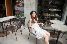 Korean Model, Ulzzang Girl, Lace Skirt, Park, Skirts, Fashion, Moda, Fashion Styles, Skirt