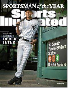 NY Yankees - Derek Jeter - 2009 SI Sportsman of the Year
