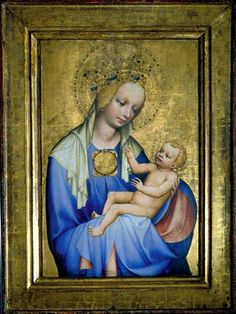 Madonna from Roudnice (CZE) - cent. Prague, St Agnes, Chef D Oeuvre, 14th Century, Middle Ages, Ikon, Art Images, Madonna, Les Oeuvres