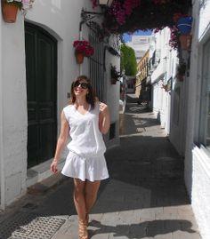 #VESTIDO #DRESS #BLANCO #WHITE #MODA #COMPRAR #TIENDA #ONLINE #VERANO #PRIMAVERA
