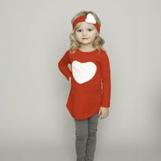 Adorable Valentine's outfit for only $27.00 at www.brickyardbuffalo.com!