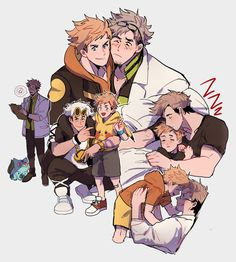 i kept thinking about willow being spark's dad and guzma being his uncle - 3 End