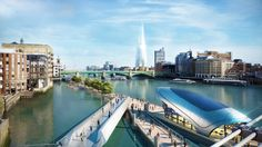 """The London office of the US architectural firm of Gensler recognized the greater potential of considering urban open space as part of a network of spaces. It looked at combining individual spaces across district boundaries to create a whole greater than the sum of its parts. """"The Thames River Park"""". Shared by Geoffrey James A.I.A. Architect, celebrating 50 years of work in 6 countries and 7 states. www.designbuildassociates.org"""