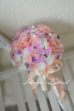 hand bouquet from nylon flower. Interested to know more?? please email me at shaja_ratul@yahoo.com. Thank you