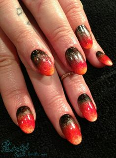 Red hot fiery design-#flame