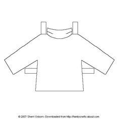 Paper Doll Shirts: Turtle Neck Shirt