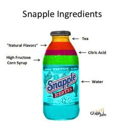 What's really in a Snapple..