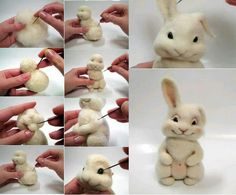 Rabbit Felting Tutorial