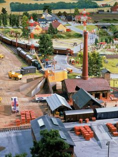Denmark | #Scale_model 1/x #railway scenery | Hamburg