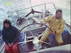 Le Pen Duick VI d'Eric Tabarly (video) Configuration, Classic Yachts, Sailing Yachts, Train Car, Speed Boats, Surfing, Illustrations, Life, Sailing Ships