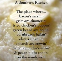 Southern kitchen...OH MY HEART <3