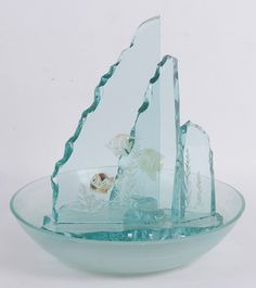 art glass table top fountain Water Fountains, Glass Table, Water Features, Glass Art, Top, Water Sources, Water Sources, Fuentes De Agua, Glass Table Top