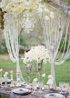 diamond and pearl wedding theme - Google Search