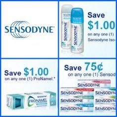 Coupons to SAVE on Sensodyne Toothpaste