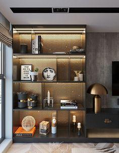 Shelving Design, Shelf Design, Cabinet Design, Niche Design, Wall Design, Interior Design Inspiration, Home Interior Design, Interior Architecture, Living Room Tv